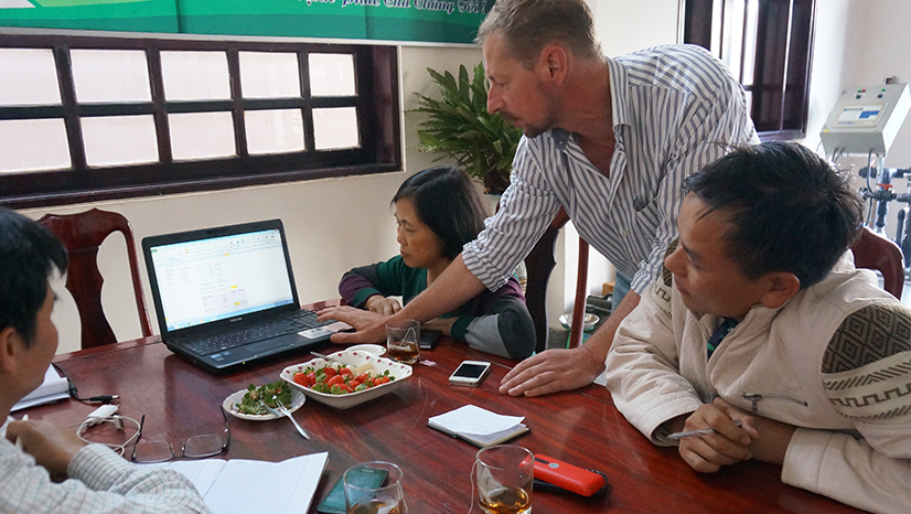 Interview with Mr Duong and Mrs Tam of Langbiang Farms in Dalat, Vietnam
