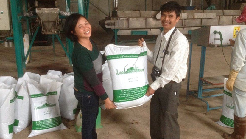 First professional pottingsoil producer in Vietnam